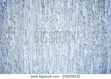 Grange plastered wall, abstract background, gray color.