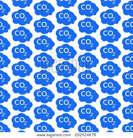 an images of Or pictogram Pattern background CO2 icon