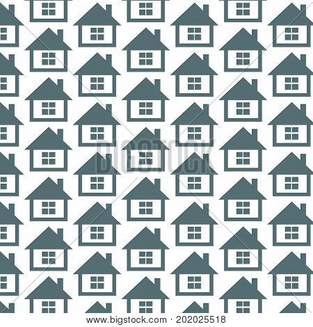 an images of Or pictogram Pattern background home icon
