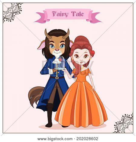 Fairy Tale Couple - Beast And Princess