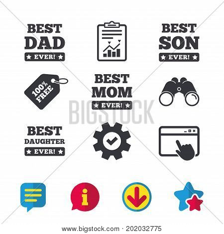 Best Mom Dad Son Vector Photo Free Trial Bigstock