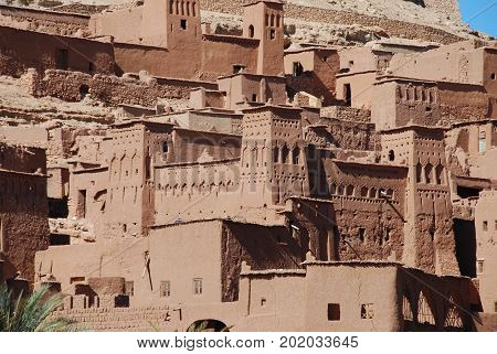 Morocco, visiting the old city of Ouarzazate