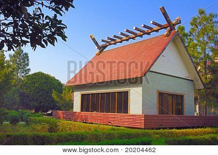 A villa in the sunshine,China