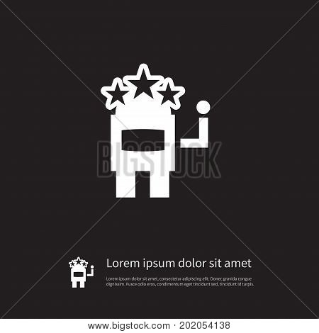 Slot Machine Vector Element Can Be Used For Slot, Machine, Jackpot Design Concept.  Isolated Jackpot Icon.