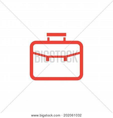 portfolio icon, linear style, eps 10 file, easy to edit