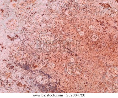 The dark worn rusty metal texture background.