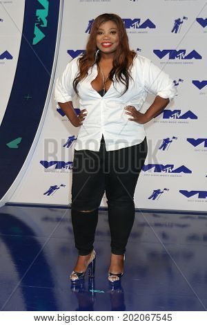 LOS ANGELES - AUG 27:  Ashley De La Mode at the MTV Video Music Awards 2017 at The Forum on August 27, 2017 in Inglewood, CA