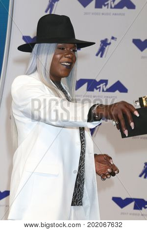 LOS ANGELES - AUG 27:  Big Freedia at the MTV Video Music Awards 2017 at The Forum on August 27, 2017 in Inglewood, CA