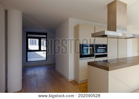 Nobody in this beautiful new room or kitchen