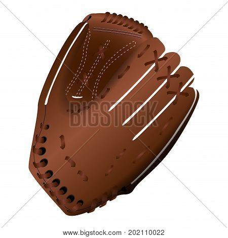 Isolated Baseball Glove