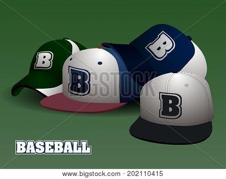 Set Of Baseball Caps
