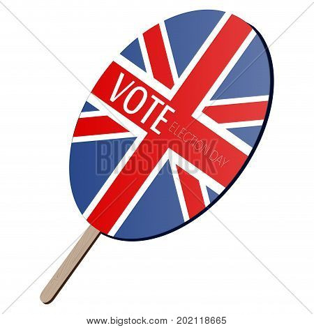 Isolated Voting Paddle