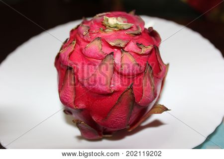 Pitaya or Pitahaya - incredibly beautiful fruit with the same interesting name as its appearance