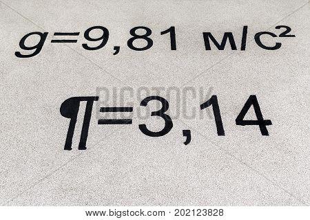 Equations On Playground