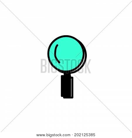 doodle magnifying icon, magnifying vector design, magnifying symbol