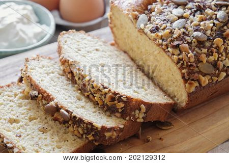 healthy almond bread Keto food ketogenic diet paleo low carb high fat gluten free