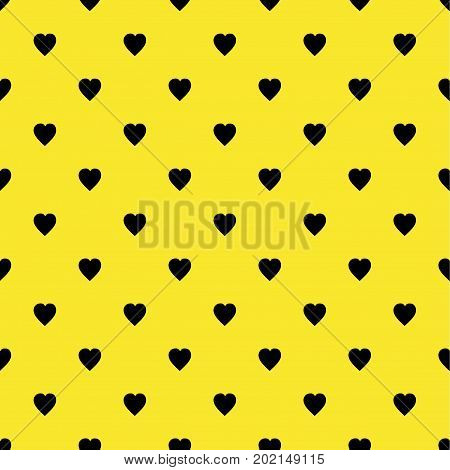 Hearts pattern Flat Scandinavian style for print on fabric, gift wrap, web backgrounds, scrap booking, patchwork  Vector illustration Seamless background