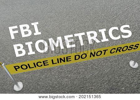 Fbi Biometrics Concept