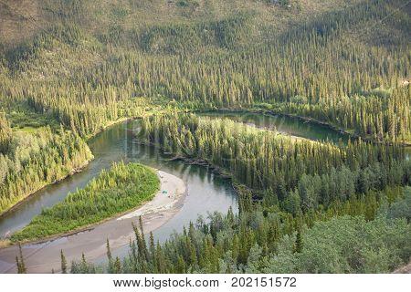 Big Salmon River Yukon Territory Canada