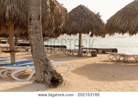 Relaxing Tropical Holidays With Bungalows On White Beach