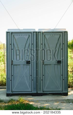 2 public toilets installed in green park