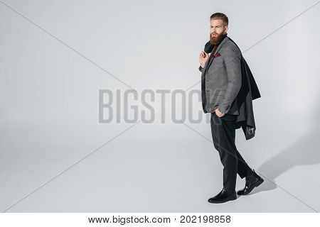 Attractive Bearded Man