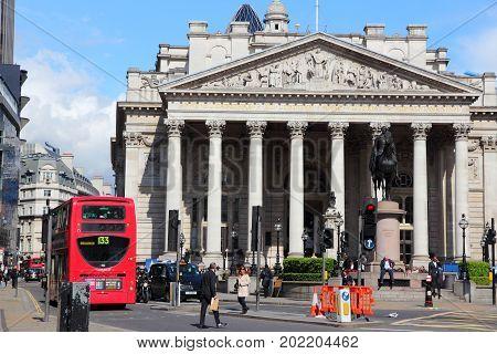 Bank Junction, London