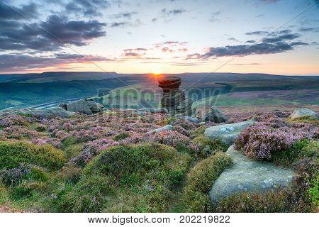 Sunset On Derwent Edge