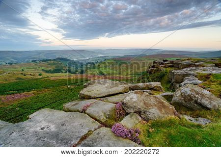 Dawn On Higger Tor
