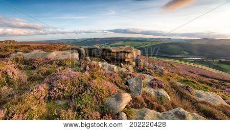 Derwent Edge In The Peak District