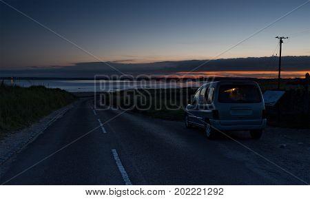 Midnight On Lindisfarne
