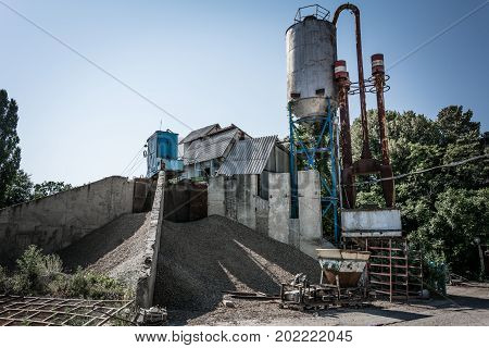 Crusher Plant In Sand And Gravel Production