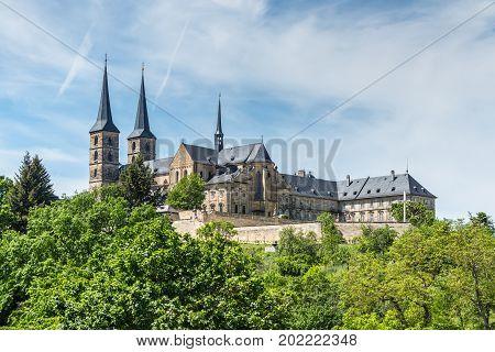 Michaelsberg Abbey (Kloster Michelsberg) Bamberg in Germany