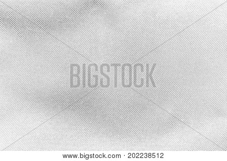Textured White Fabric Cloth Texture With Natural Patterns Can Be Used As Background