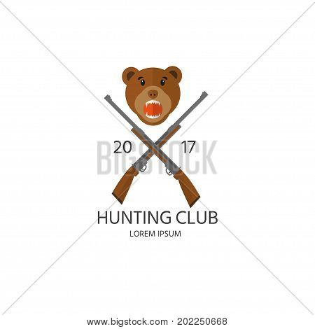 Set Of Hunting Equipment And Gear For Hunt