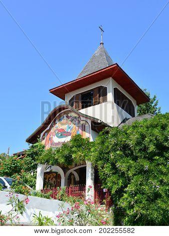 Orsova town Romania saint ana monastery landmark architecture detail