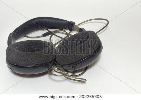 Stereo Headphones, Circumaural Type