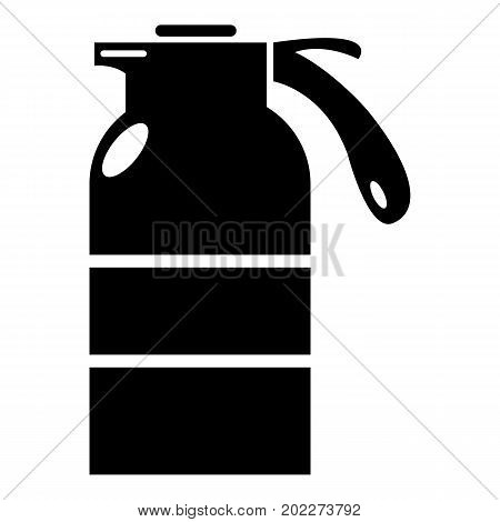 Sprayer container icon . Simple illustration of sprayer container vector icon for web design isolated on white background