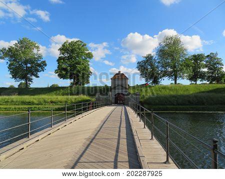 Kastellet, Star Fortress in Copenhagen. The Gate