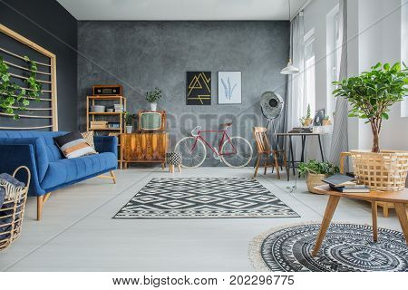 Studio With Vintage Furniture