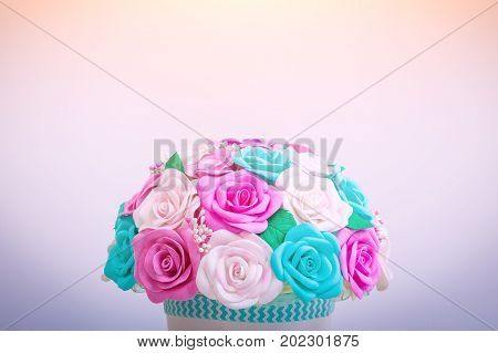 Artificial Flowers Of Roses