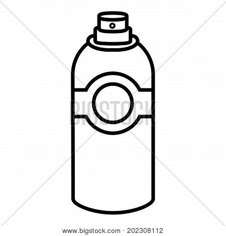 Spray deodorant icon. Outline illustration of spray deodorant vector icon for web design isolated on white background
