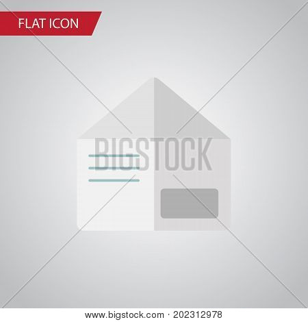 Letter Vector Element Can Be Used For Envelope, Letter Design Concept.  Isolated Envelope Flat Icon.