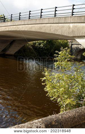 Bridge in Enniskillen over Lough Erne County Fermanagh Northern Ireland