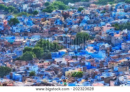View Of Jodhpur (blue City).rajasthan, India