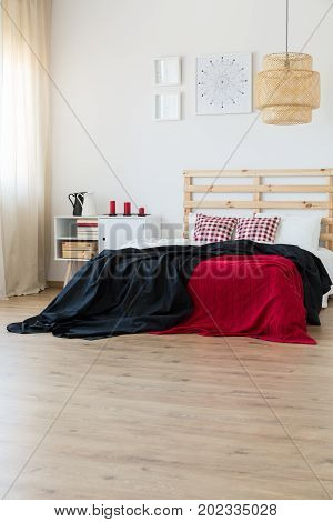Black And Red Interior Accents