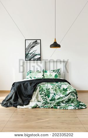 Vertical Photo Of A Bedroom