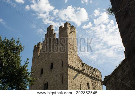 Castle Of The City Of Carcassonne