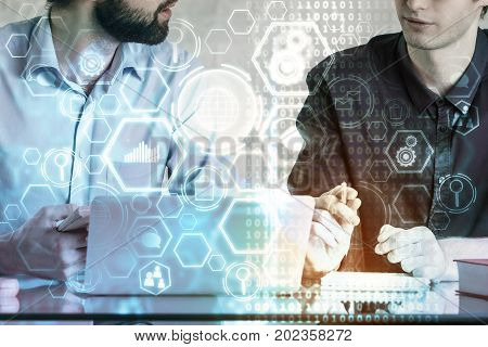 Teamwork And Innovation Concept