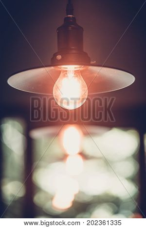 Decoration antique edison led light style filament light bulbs turn on the light color vintage styleThailand